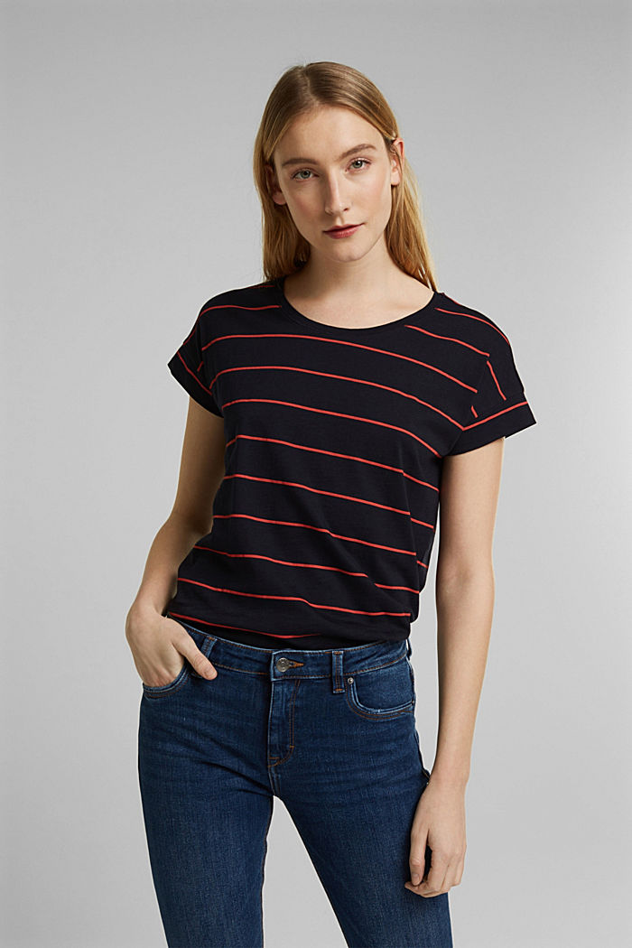 Streifen-Shirt aus 100% Organic Cotton