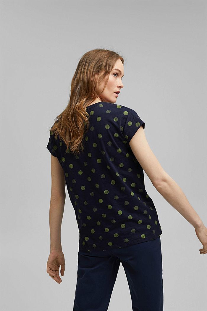 Basic T-Shirt aus 100% Organic Cotton, NEW NAVY, detail image number 3