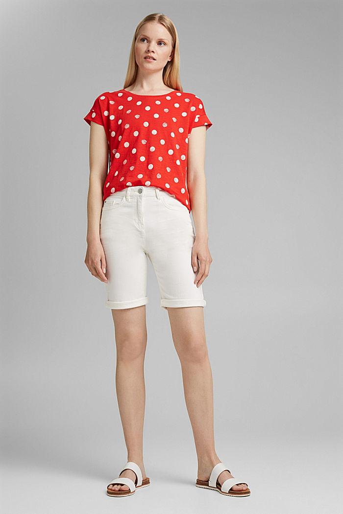 Basic T-Shirt aus 100% Organic Cotton