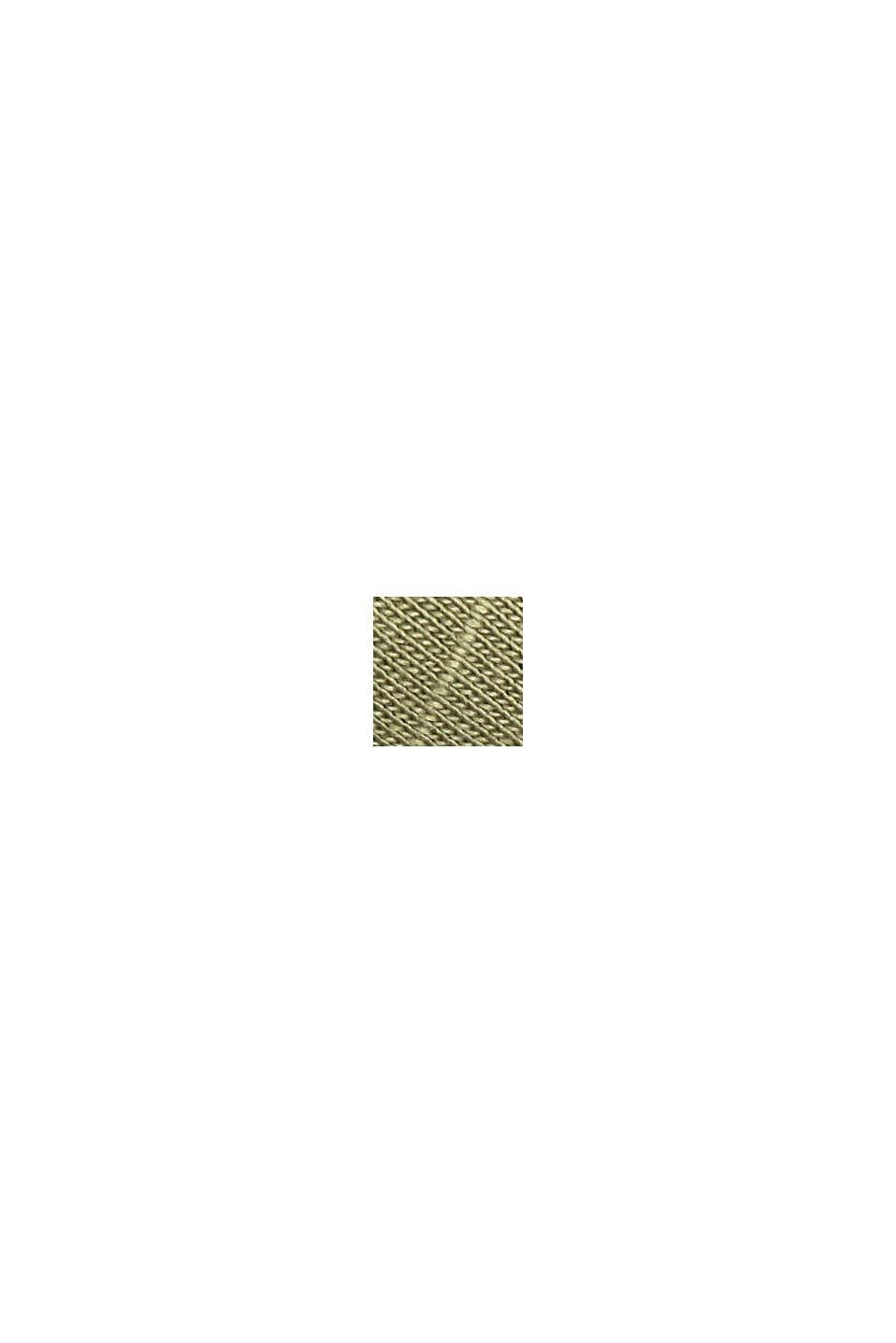 CURVY Longsleeve mit Organic Cotton/TENCEL™, LIGHT KHAKI, swatch