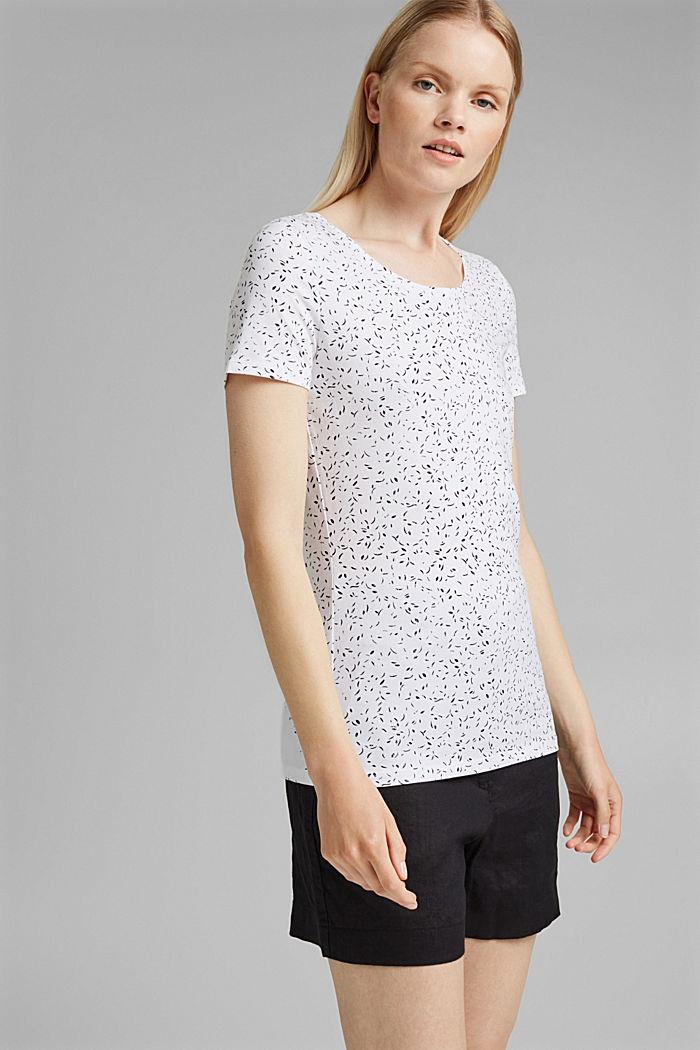 Printed T-shirt made of organic cotton