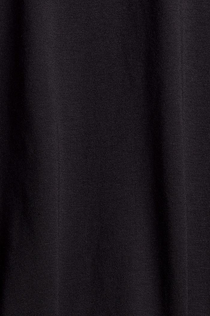 Set van twee longsleeves van een mix met biologisch katoen, BLACK, detail image number 3