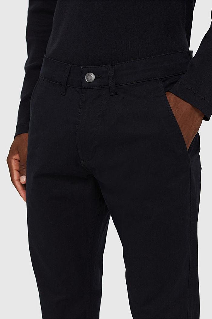 Chino en coton biologique à anneau porte-clés, BLACK, detail image number 2