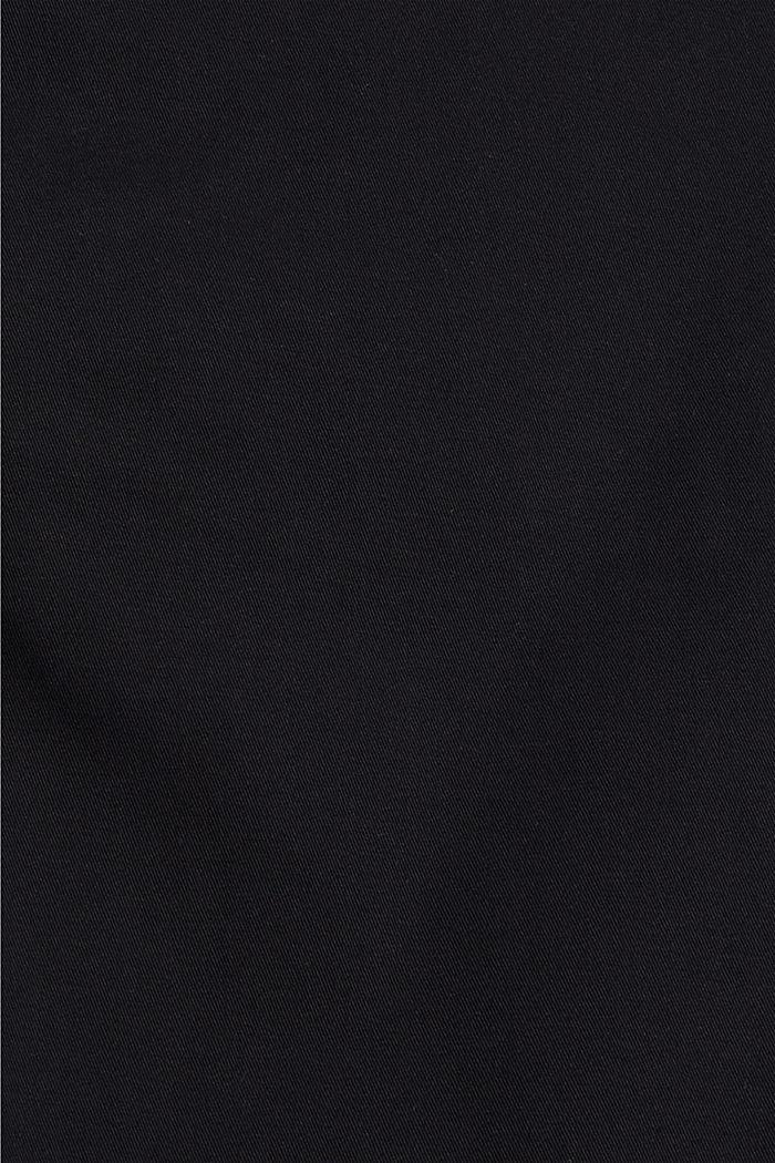 Chino en coton biologique à anneau porte-clés, BLACK, detail image number 4