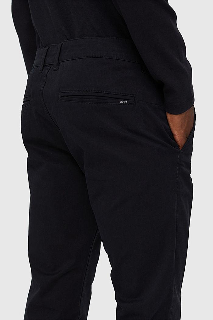 Chino en coton biologique à anneau porte-clés, BLACK, detail image number 5
