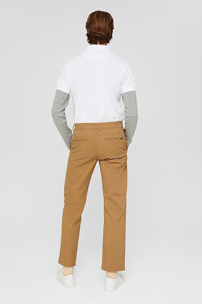Gerade Chino aus Organic Cotton, CAMEL, detail image number 3