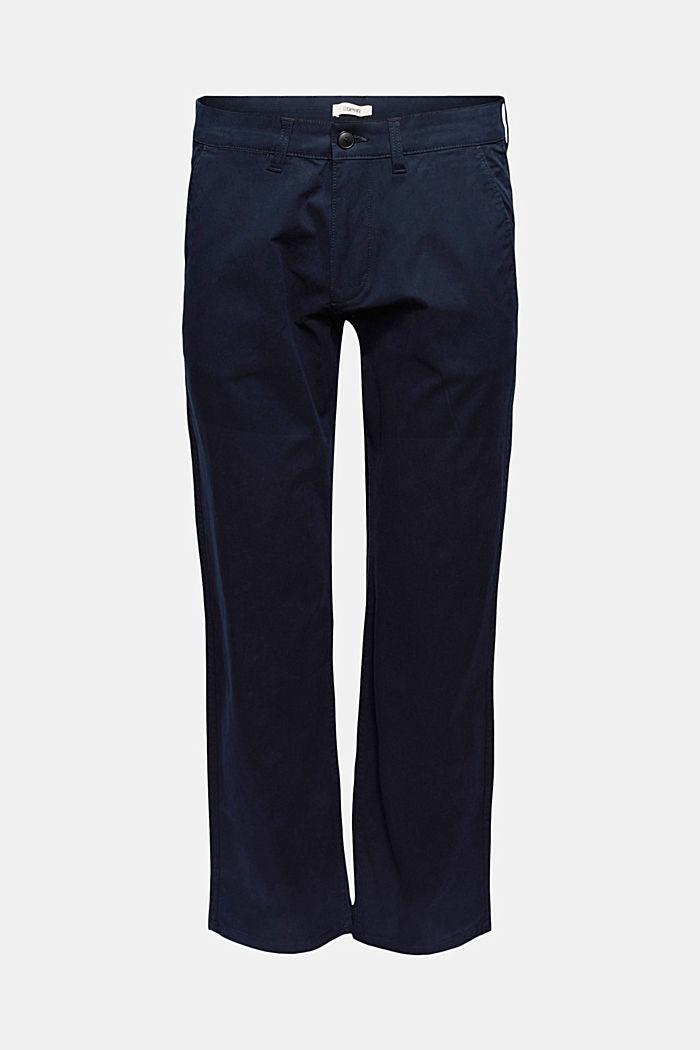 Rovné kalhoty chino z bio bavlny