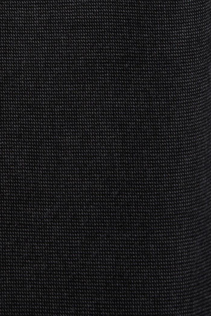 Pantalón de traje en dos tonos, mezcla de algodón, ANTHRACITE, detail image number 4