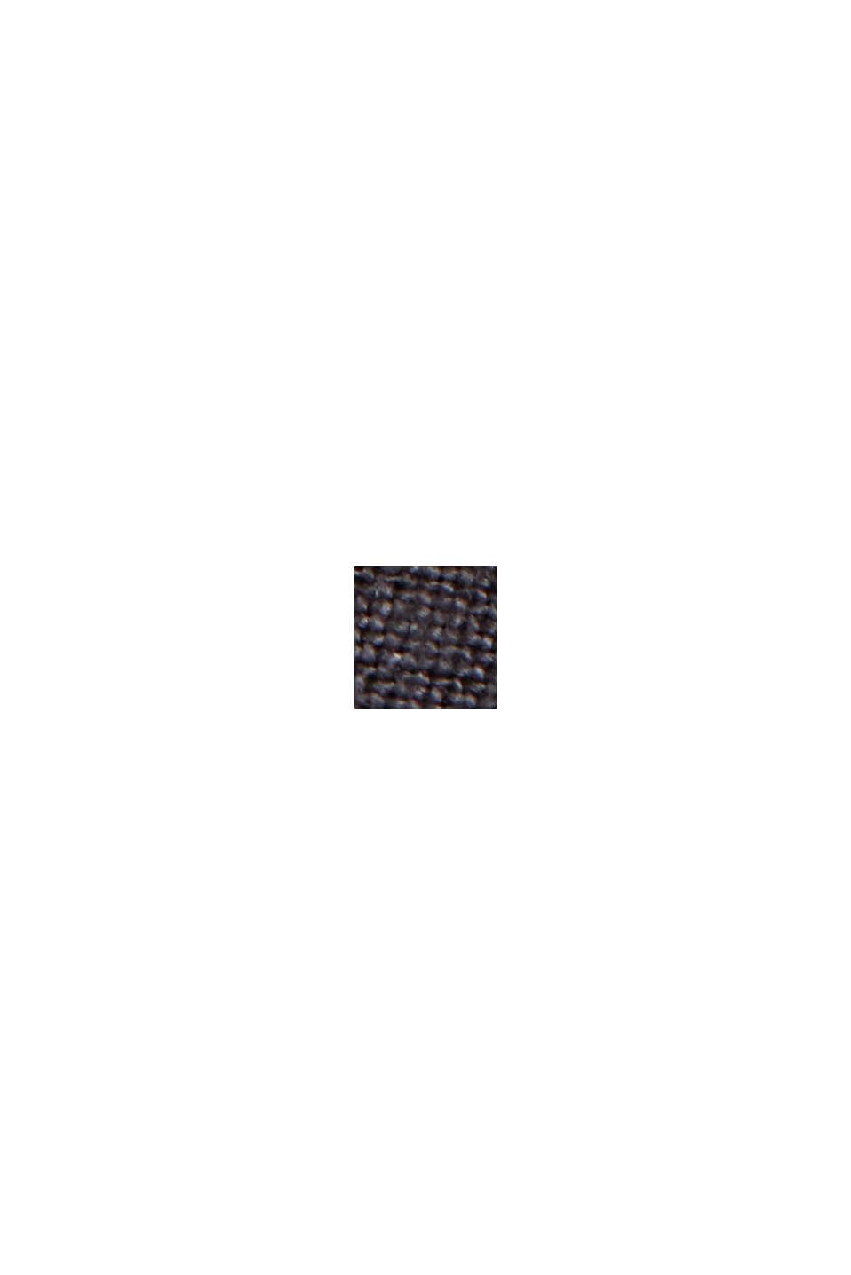 Buttendownoverhemd van 100% linnen, BLACK, swatch