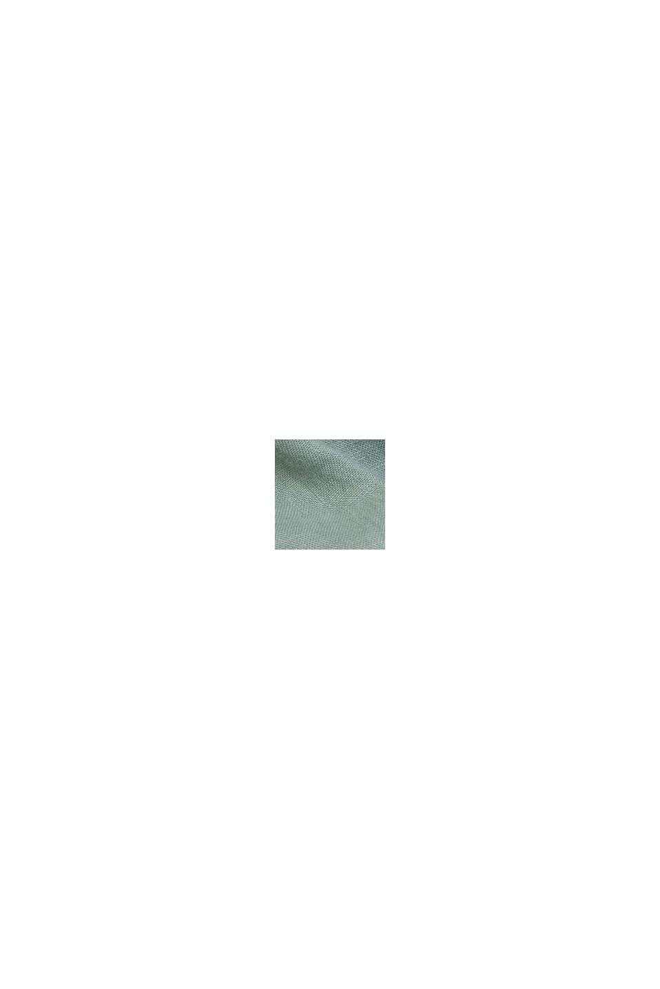 Buttendownoverhemd van 100% linnen, LIGHT KHAKI, swatch