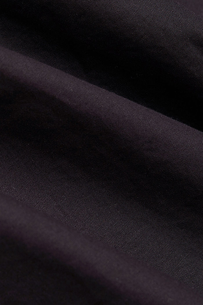 Shirt made of 100% pima organic cotton, BLACK, detail image number 4