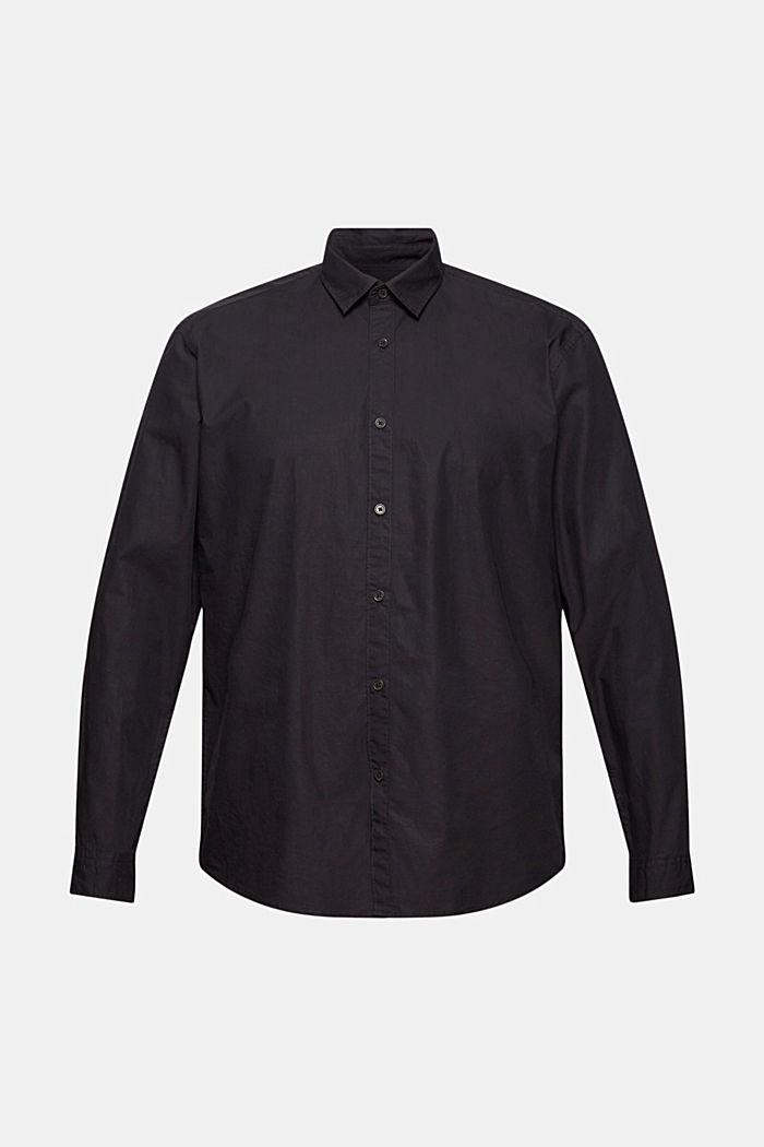 Shirt made of 100% pima organic cotton, BLACK, detail image number 8
