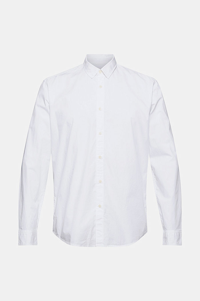 Shirt made of 100% pima organic cotton, WHITE, detail image number 6