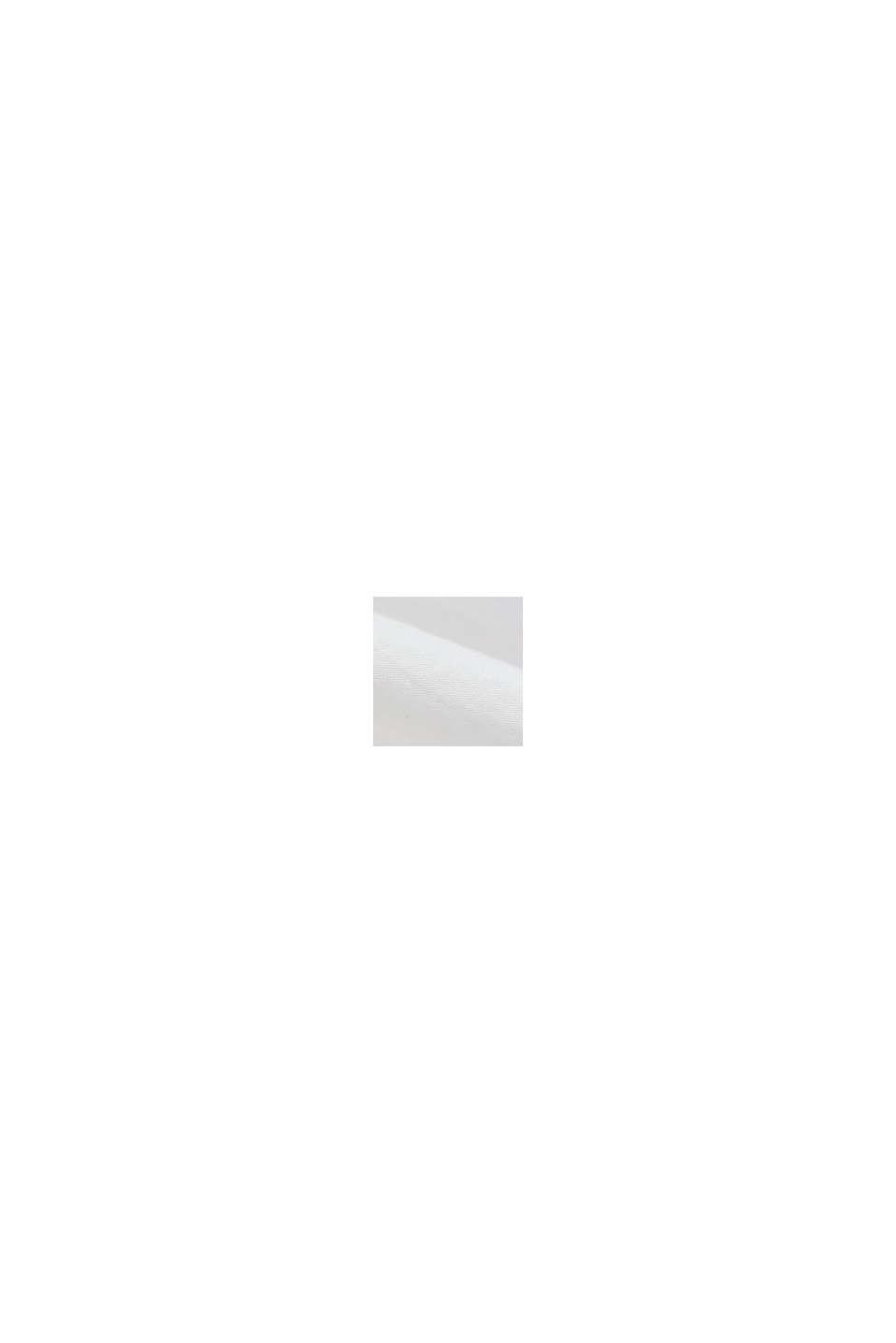 Overhemd van 100% biologisch pima katoen, WHITE, swatch