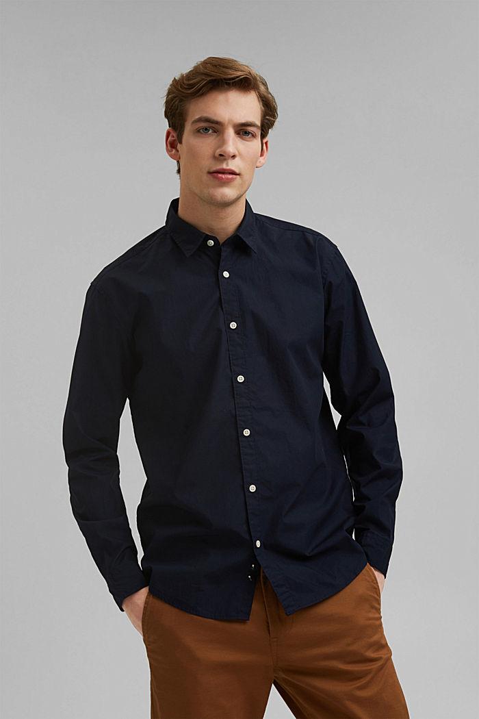 Shirt made of 100% pima organic cotton