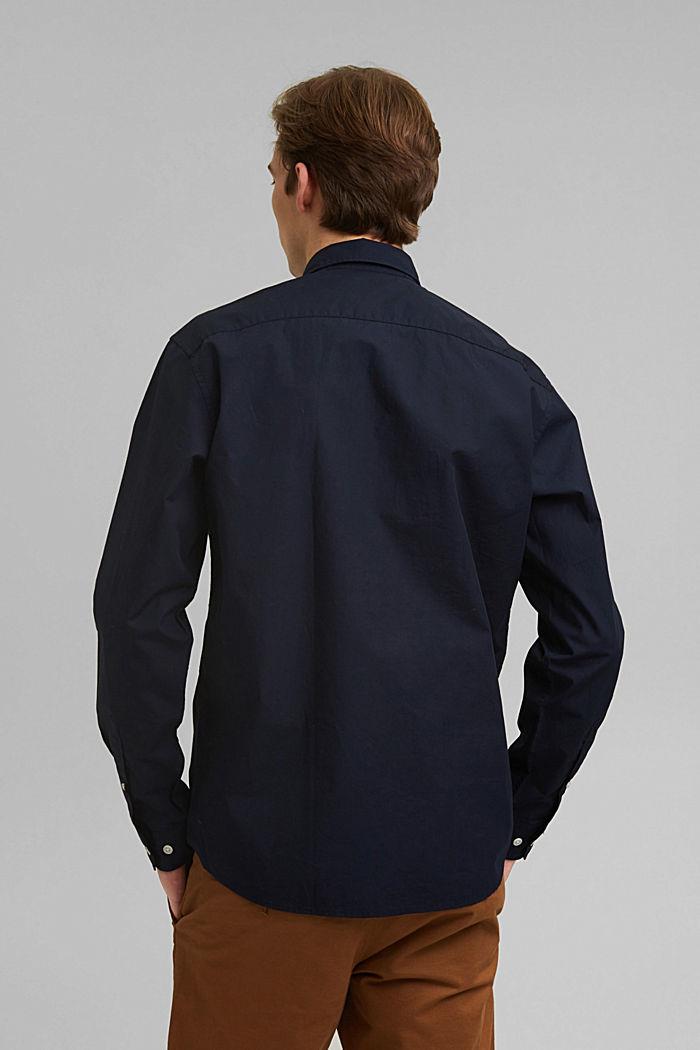 Shirt made of 100% pima organic cotton, NAVY, detail image number 3