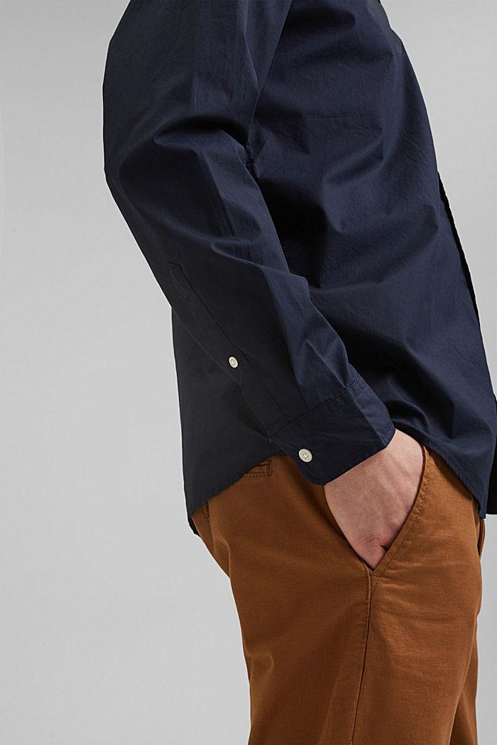 Shirt made of 100% pima organic cotton, NAVY, detail image number 2