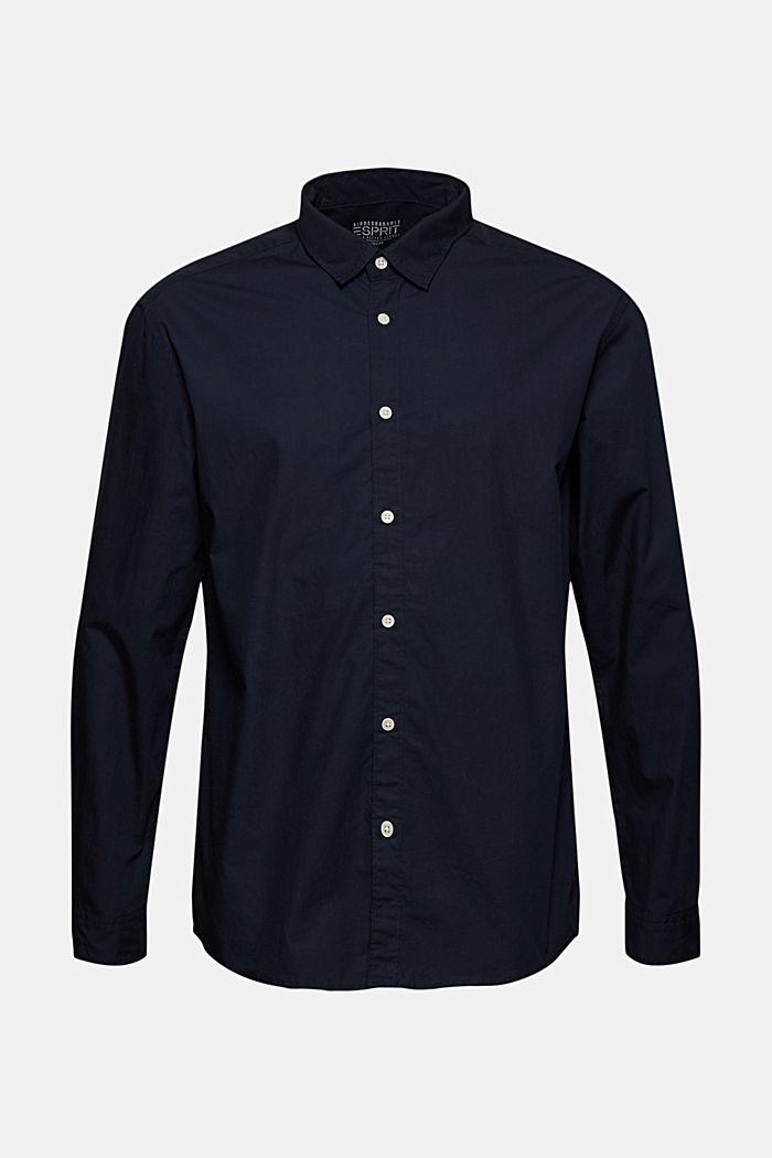 Shirt made of 100% pima organic cotton, NAVY, detail image number 6