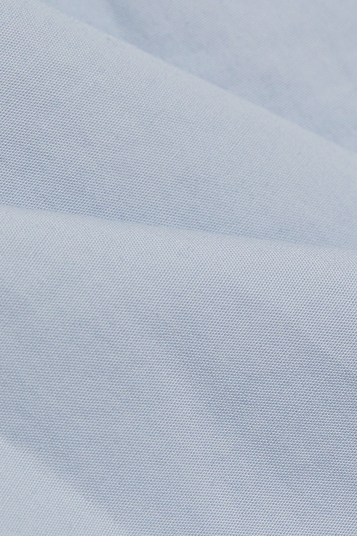 Shirt made of 100% pima organic cotton, LIGHT BLUE, detail image number 4