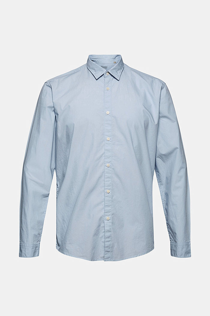 Shirt made of 100% pima organic cotton, LIGHT BLUE, detail image number 7