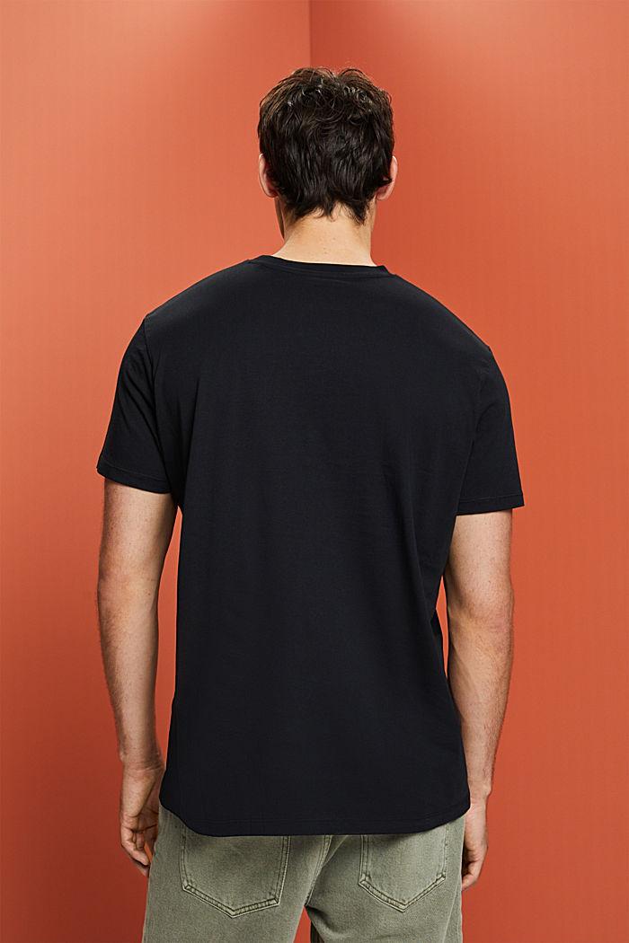 Camiseta de jersey en 100% algodón ecológico, BLACK, detail image number 3