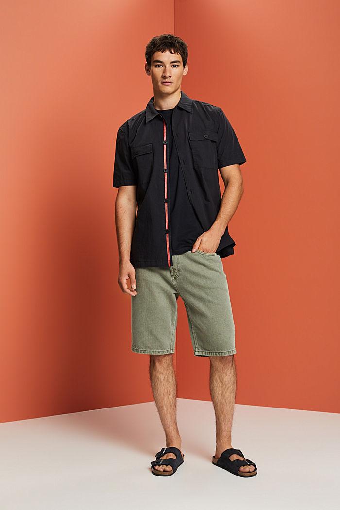 Camiseta de jersey en 100% algodón ecológico, BLACK, detail image number 2