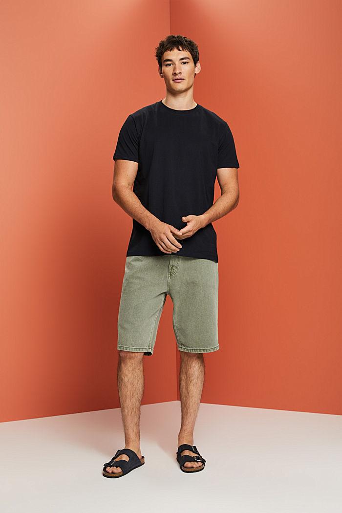 Camiseta de jersey en 100% algodón ecológico, BLACK, detail image number 5