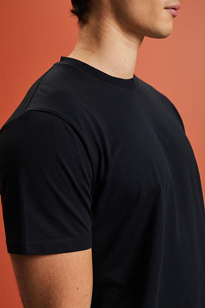 Camiseta de jersey en 100% algodón ecológico, BLACK, detail image number 1