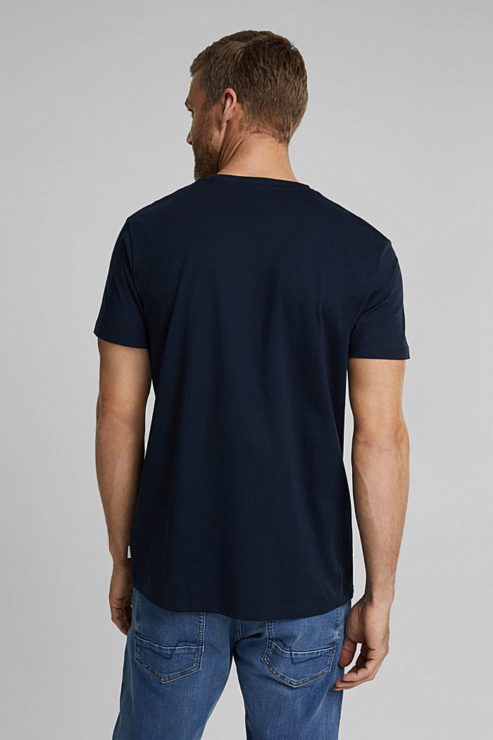 Jersey T-shirt made of 100% organic cotton, NAVY, detail image number 3