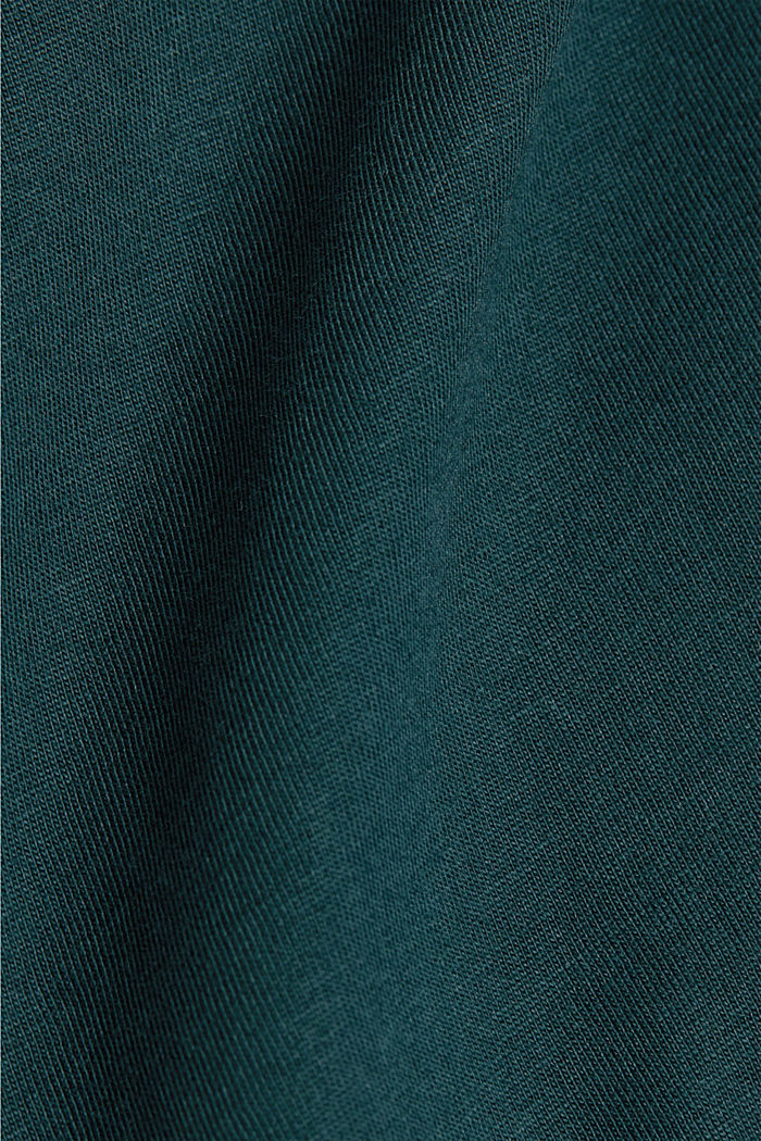 Jersey T-shirt made of 100% organic cotton, TEAL BLUE, detail image number 5