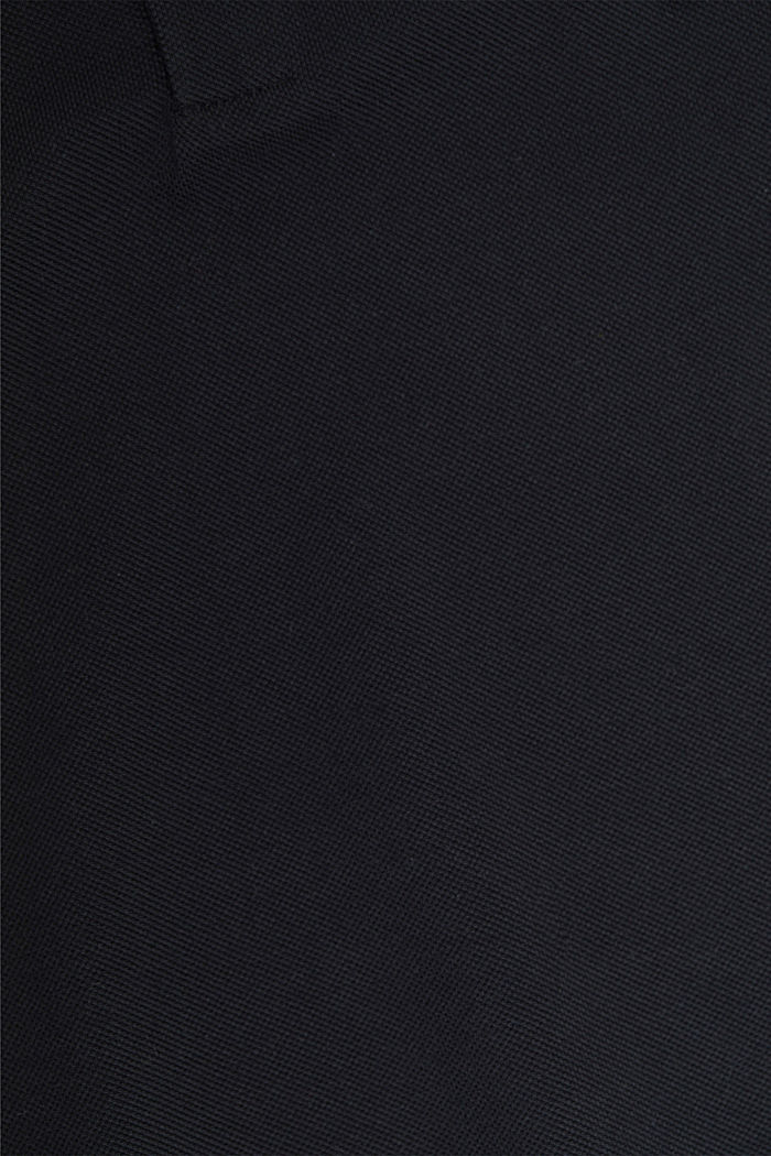 Polohemd aus 100% Organic Cotton, BLACK, detail image number 4