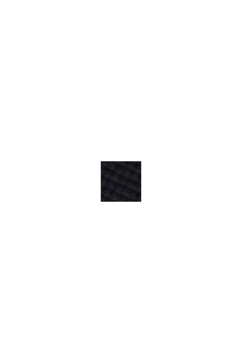Polo 100% coton biologique, BLACK, swatch