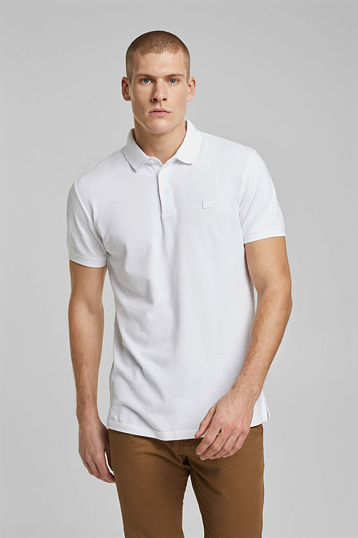 Polo shirt made of 100% organic cotton, WHITE, detail image number 0