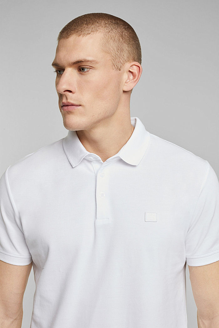 Polo shirt made of 100% organic cotton, WHITE, detail image number 5