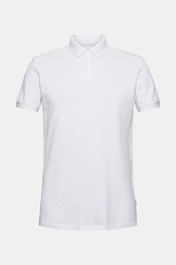 Polo shirt made of 100% organic cotton, WHITE, detail image number 6