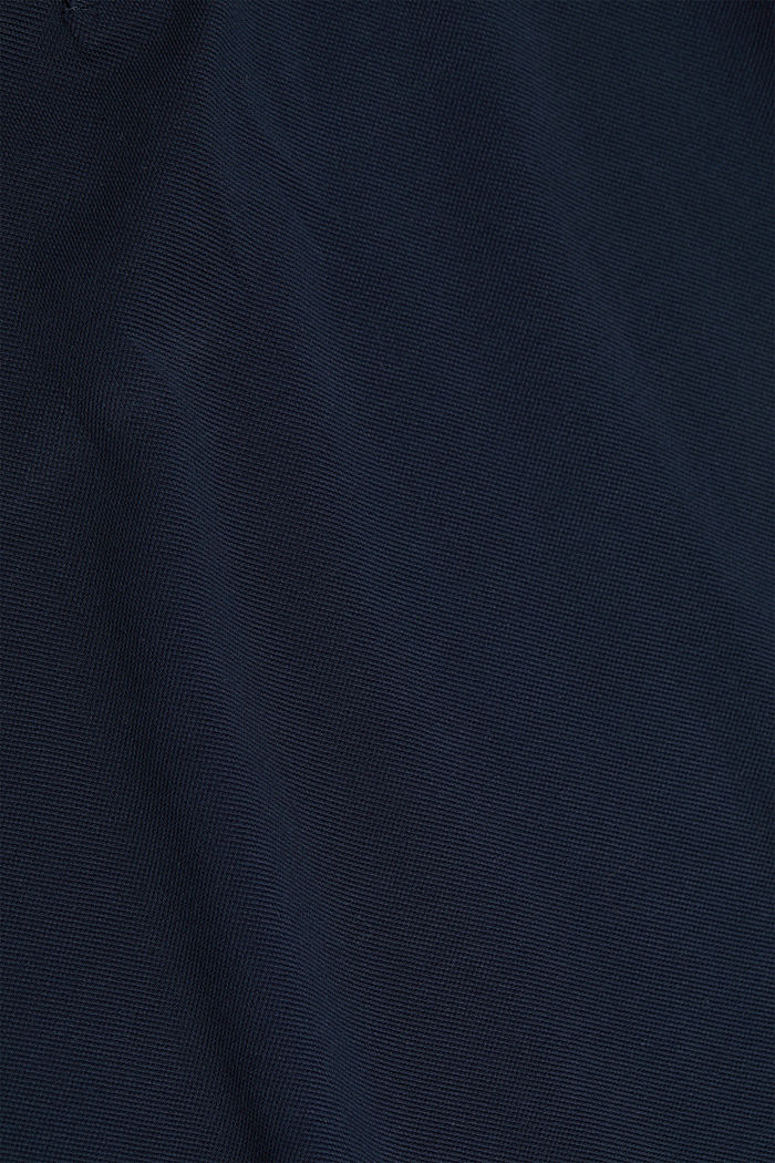 Polohemd aus 100% Organic Cotton, NAVY, detail image number 4