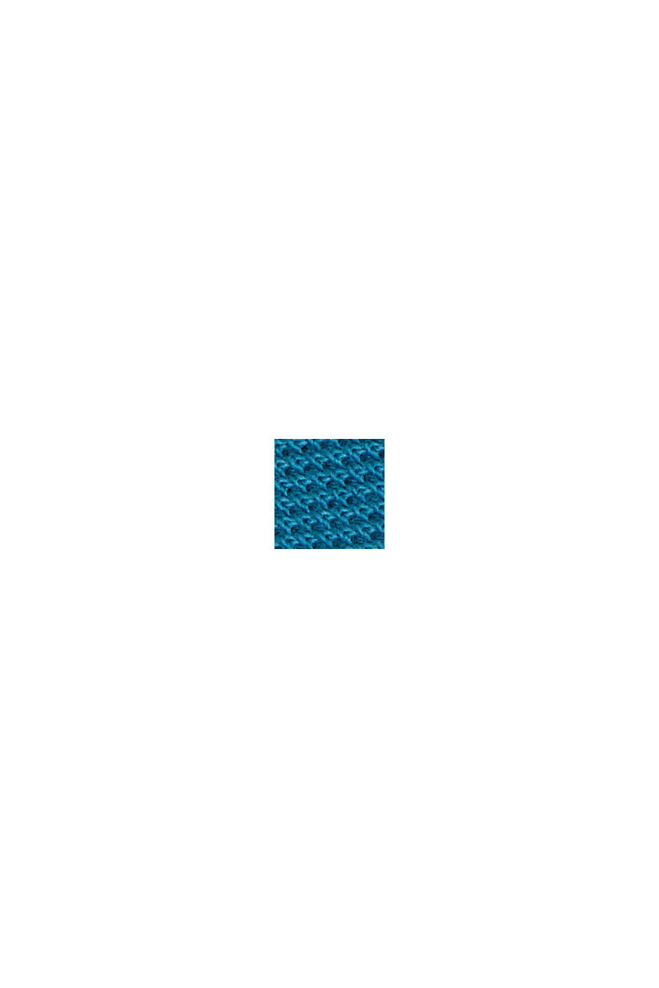 Polo shirt made of 100% organic cotton, PETROL BLUE, swatch