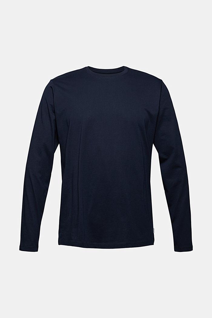 Jersey-Longsleeve aus 100% Bio-Baumwolle