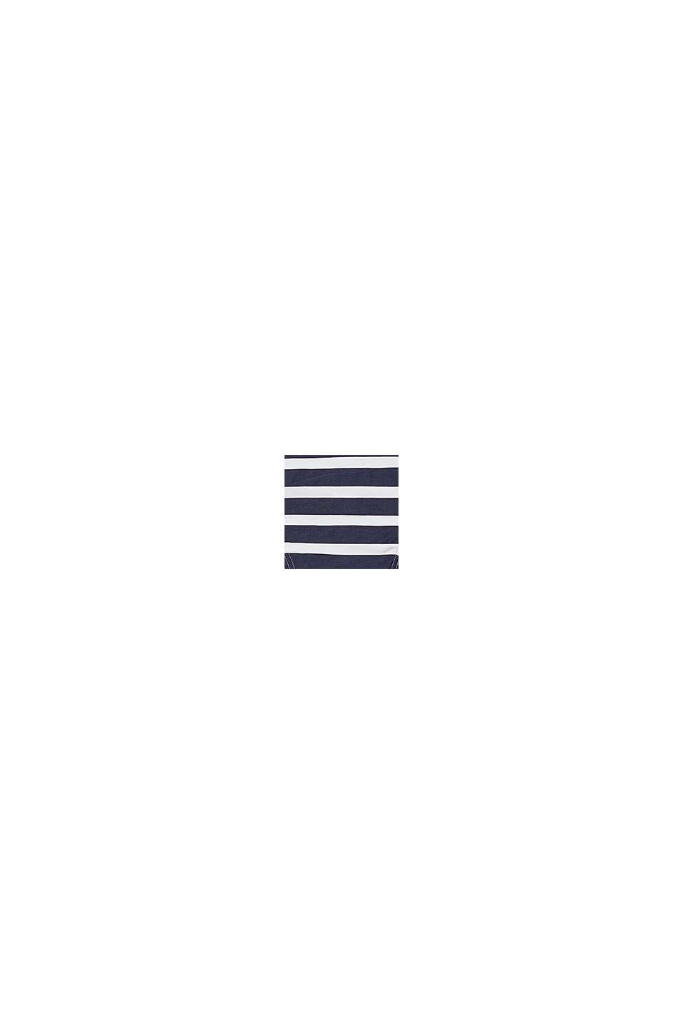 Recycled: stripe print briefs, NAVY, swatch