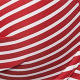Recycelt: Bügel-Top mit Streifen, RED, swatch