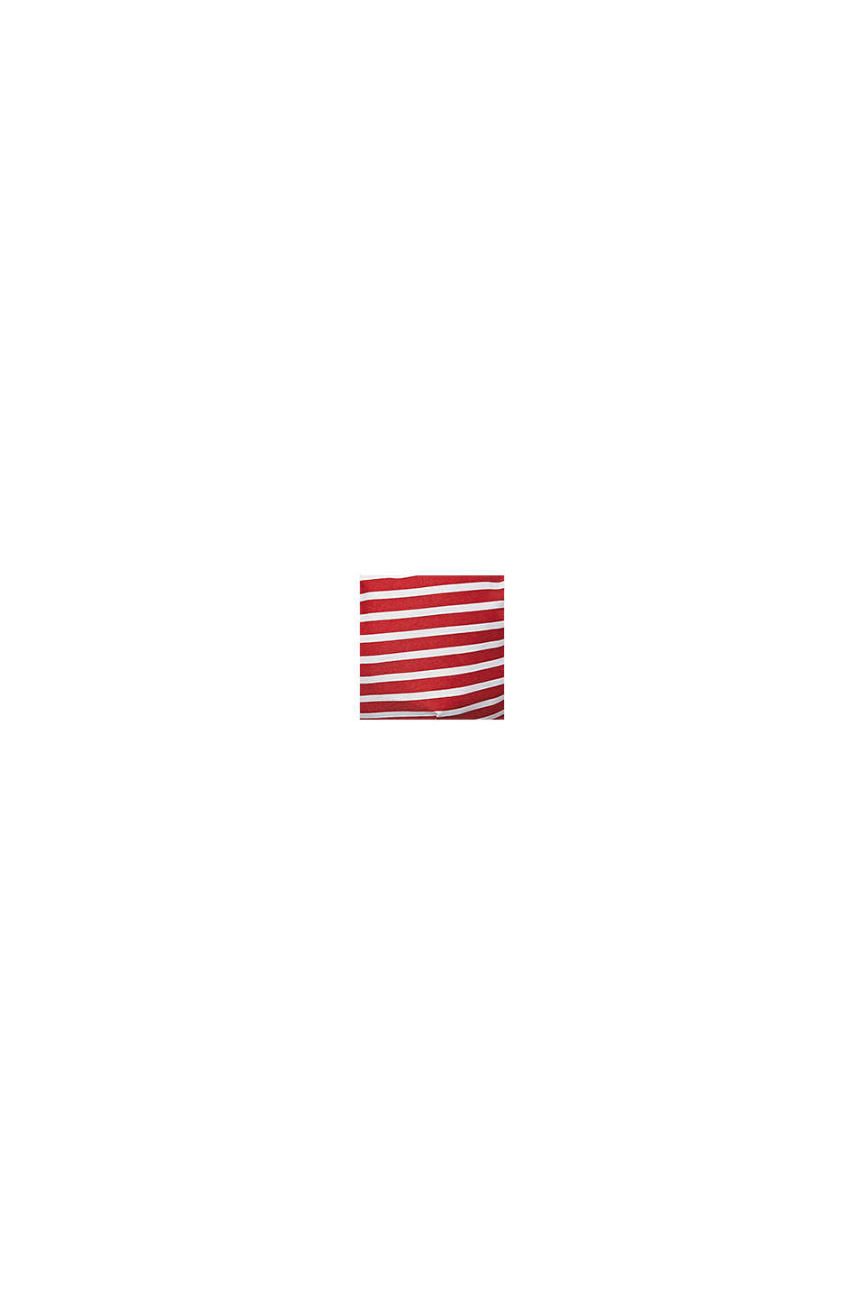 Recycelt: unwattiertes Neckholder-Top, RED, swatch