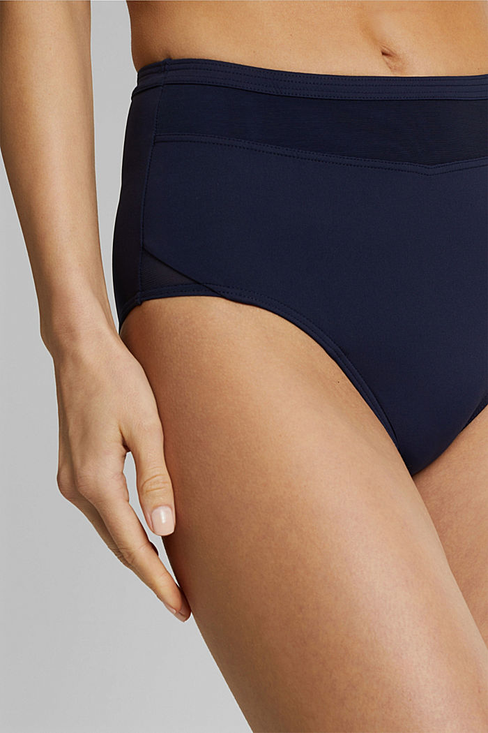 High-waisted, shaping briefs, NAVY, detail image number 1