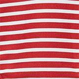 Recycelt: Midi-Slip mit Streifen, RED, swatch