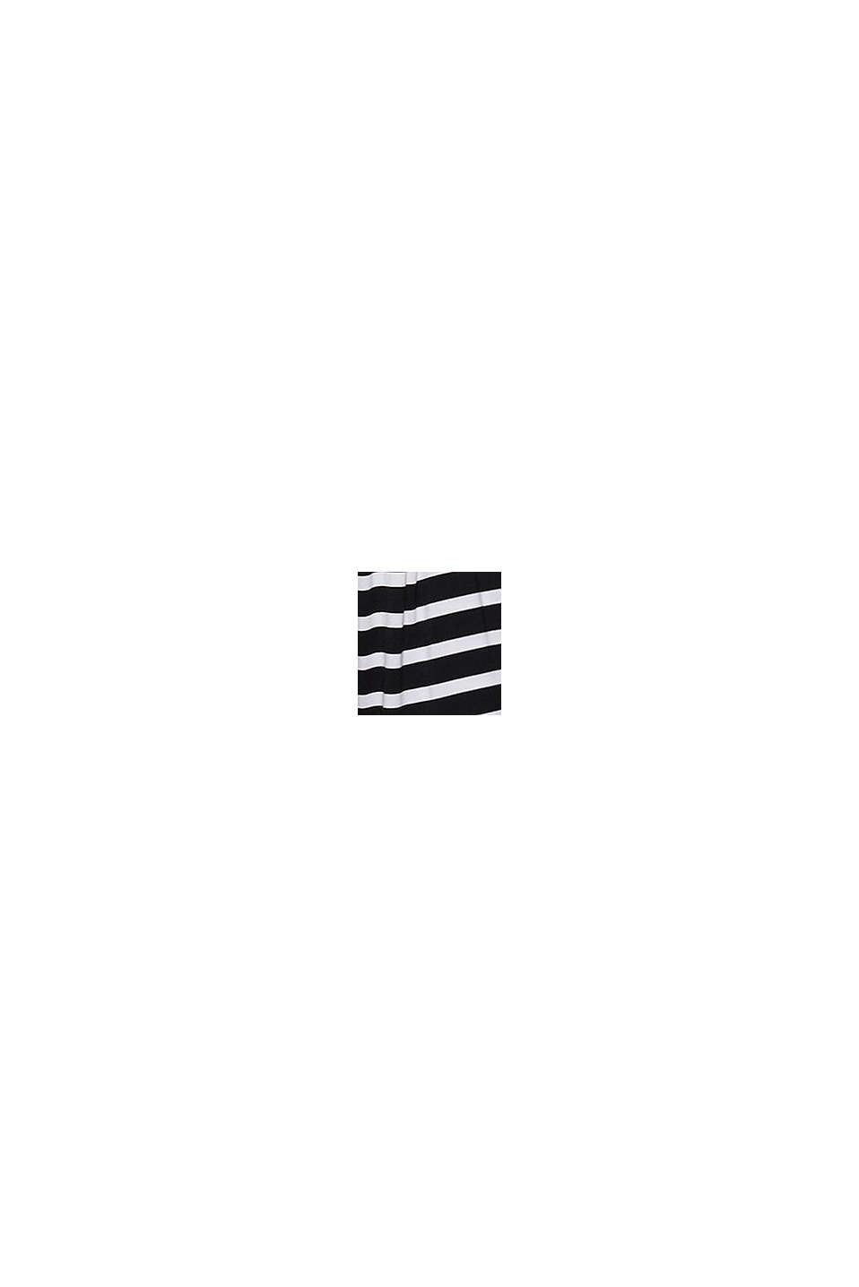 Jersey-Shorts aus LENZING™ ECOVERO™, BLACK, swatch