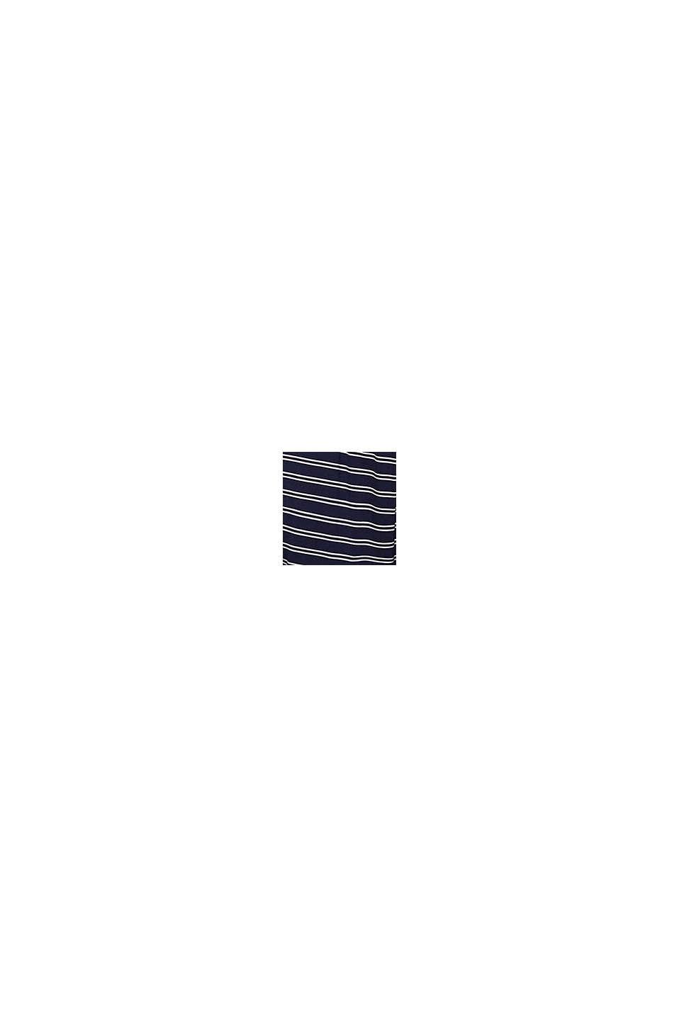 Jersey-Shorts aus LENZING™ ECOVERO™, NAVY, swatch