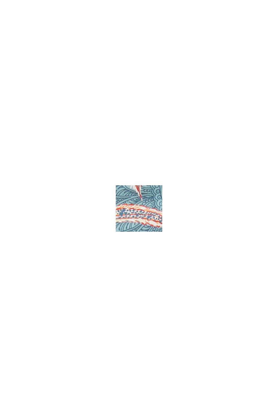 Återvunnet material: Minitrosa med mönster, TEAL GREEN, swatch