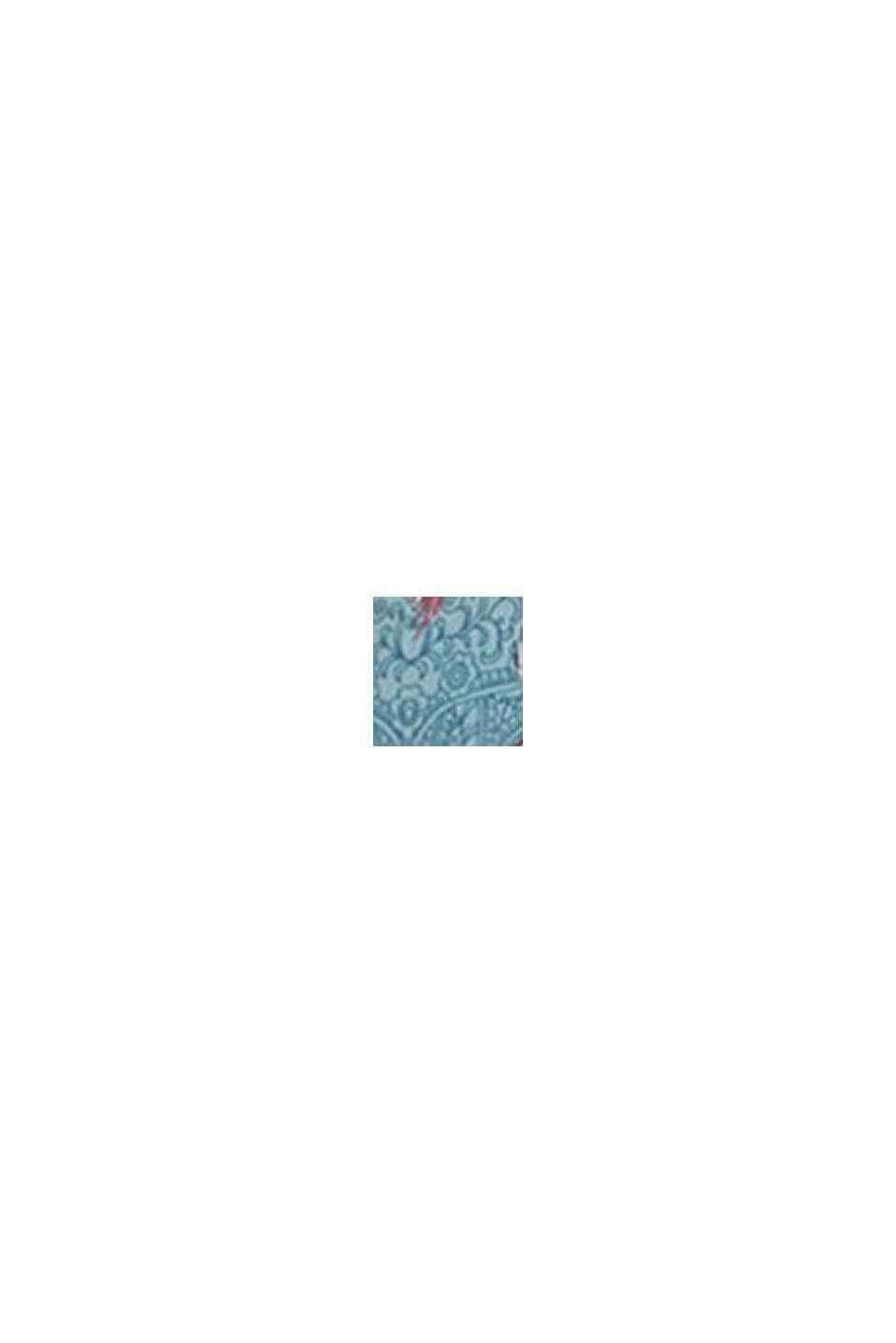 Maxi-Strandkleid aus LENZING™ ECOVERO™, TEAL GREEN, swatch