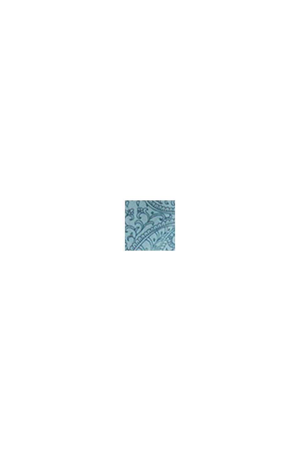 Strandkjole af LENZING™ ECOVERO™, TEAL GREEN, swatch