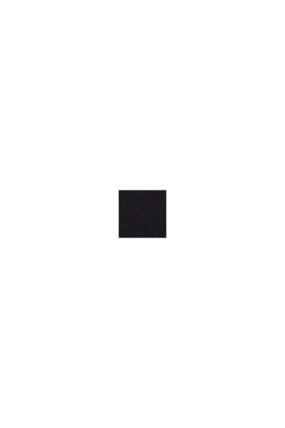 Gerecycled: push-up-bh van microvezels, BLACK, swatch