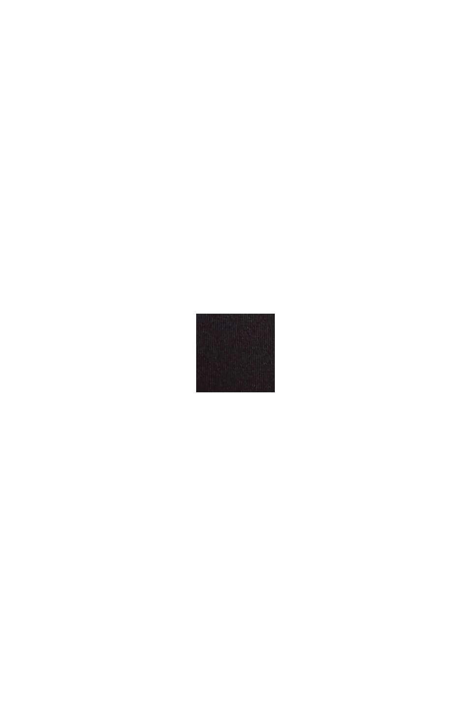 Recycelt: Balconette-BH aus Microfaser, BLACK, swatch